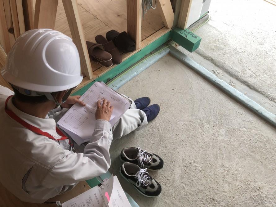 聞き取りが終われば完了|郡山市 新築住宅 大原工務店のブログ