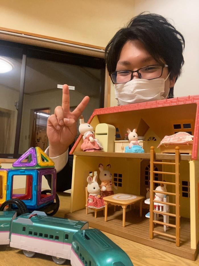 新しいおもちゃが増えました。郡山市安積町| 郡山市 新築住宅 大原工務店のブログ