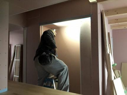 塗装工事を施工しています 郡山市昭和 |郡山市 新築住宅 大原工務店のブログ