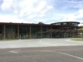 郡山市日和田町「福島県農業総合センター」外観