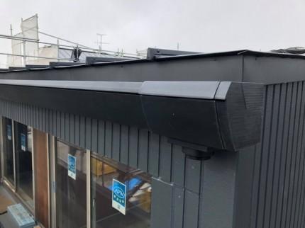 新築の雨どい取付完了です。|郡山市 新築住宅 大原工務店のブログ