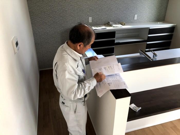 完了検査を受けました。|郡山市 新築住宅 大原工務店のブログ