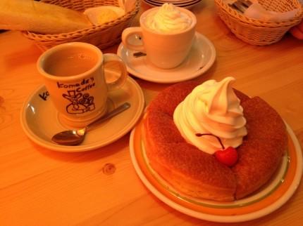 コメダ珈琲に行ってきました。