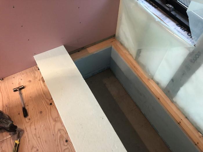 掘りごたつ式カウンターです。|郡山市 新築住宅 大原工務店のブログ