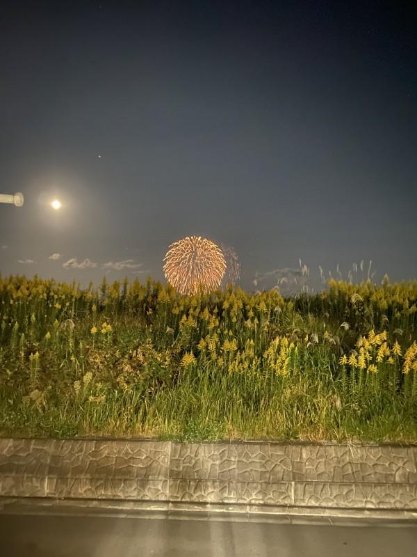 中央工業団地から花火が見えました。郡山市安積町| 郡山市 新築住宅 大原工務店のブログ