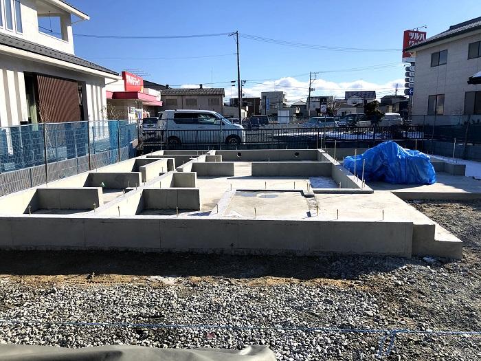 基礎工事が無事に終わりました 郡山市安積町 |郡山市 新築住宅 大原工務店のブログ