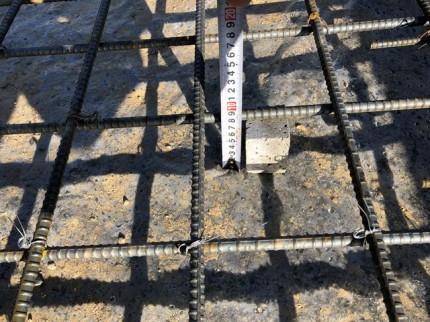 べた基礎のかぶり厚さです。|郡山市 新築住宅 大原工務店のブログ