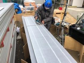 新築の外壁施工です。 郡山市 新築住宅 大原工務店のブログ