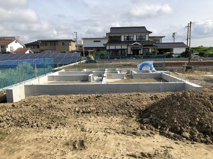 基礎工事が終わりました 郡山市安積町 |郡山市 新築住宅 大原工務店のブログ