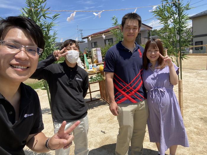 記念撮影の儀です。須賀川市森宿  郡山市 新築住宅 大原工務店のブログ