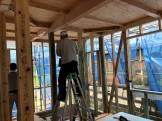 構造金物の取付です。|郡山市 新築住宅 大原工務店のブログ