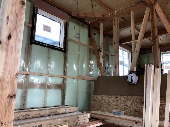 気密測定を行いました。二本松市  郡山市 新築住宅 大原工務店のブログ