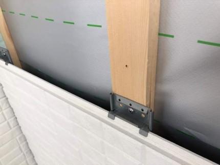 外壁通気工法です。|郡山市 新築住宅 大原工務店のブログ