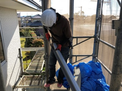 ガルバリウム鋼板の破風です。|郡山市 新築住宅 大原工務店のブログ