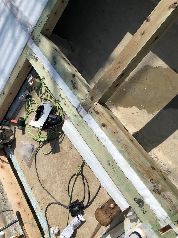断熱材のチェックです。|郡山市 新築住宅 大原工務店のブログ