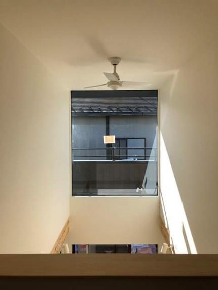 新築の吹抜け完成です。|郡山市 新築住宅 大原工務店のブログ