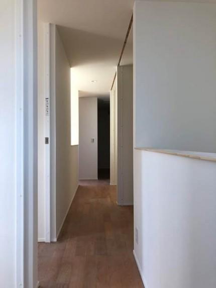 新築の養生剥がし完了です。|郡山市 新築住宅 大原工務店のブログ