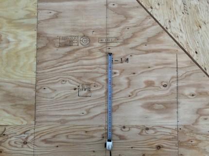 野地板の釘ピッチ | 郡山市 新築住宅 大原工務店のブログ