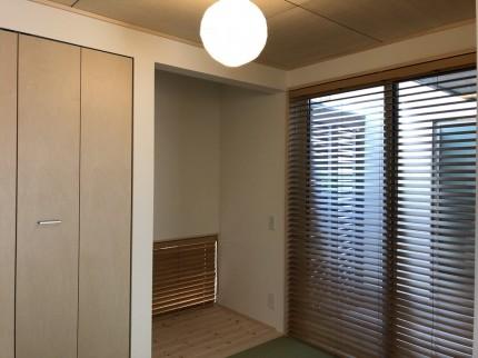 ブラインドも入り、さらにステキな空間です。|郡山市 新築住宅 大原工務店のブログ