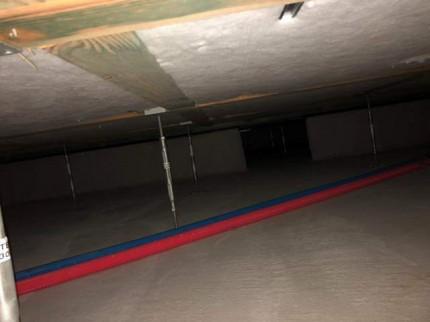 床下の点検です。|郡山市 新築住宅 大原工務店のブログ