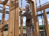 大原工務店で新築モデルハウスが上棟の様子です。郡山市安積町| 郡山市 新築住宅 大原工務店のブログ
