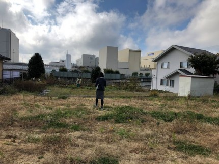 土地の現地視察です。|郡山市 新築住宅 大原工務店のブログ