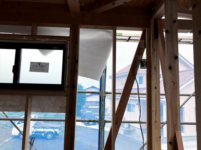 耐力壁のチェックです。|郡山市 新築住宅 大原工務店のブログ