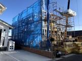 上棟しました。郡山市安積町| 郡山市 新築住宅 大原工務店のブログ