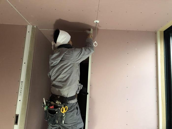 新築のクロス工事です。|郡山市 新築住宅 大原工務店のブログ