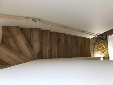 階段上からのアングルです。郡山市大槻町  郡山市 新築住宅 大原工務店のブログ
