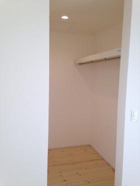 2階 クローゼット