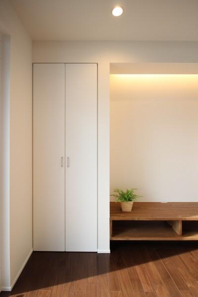 トール型の収納です。|郡山市 新築住宅 大原工務店のブログ