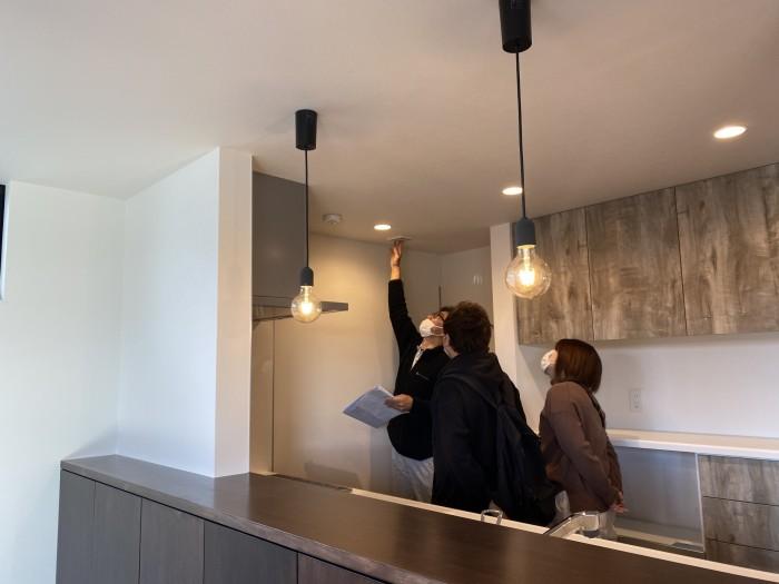 工務がお家の中の説明をおこないます!| 郡山市 新築住宅 大原工務店のブログ