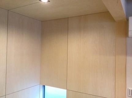シナ材を使用した和室