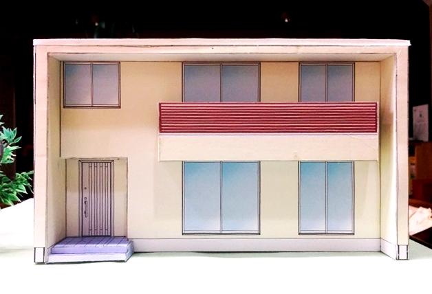 キューブ型住宅