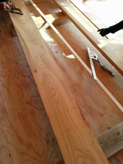 欅ササラ板