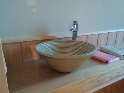 トイレ 手洗い 焼き物