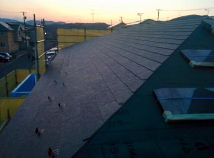 新築工事 屋根工事