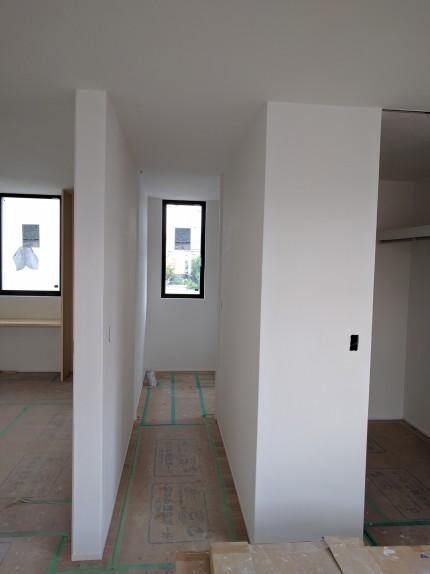 珪藻土 白 新築住宅