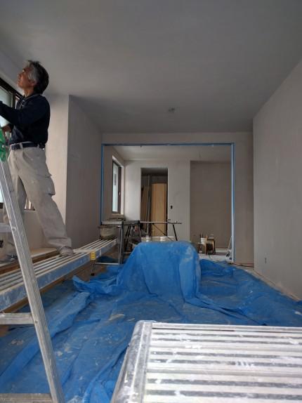 珪藻土 塗り壁 新築