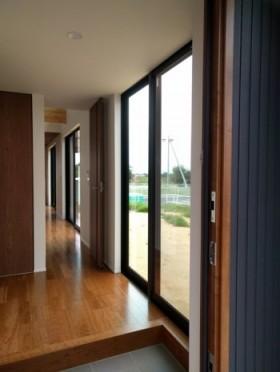 傷チェック行ってきました。福島市 新築住宅 K様邸です。