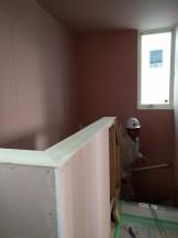 笠木の施工です。|郡山市 新築住宅 大原工務店のブログ