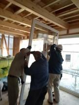 新築戸建てのYKK330取付です。|郡山市 新築住宅 大原工務店のブログ