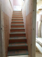 新築の階段です。|郡山市 新築住宅 大原工務店のブログ