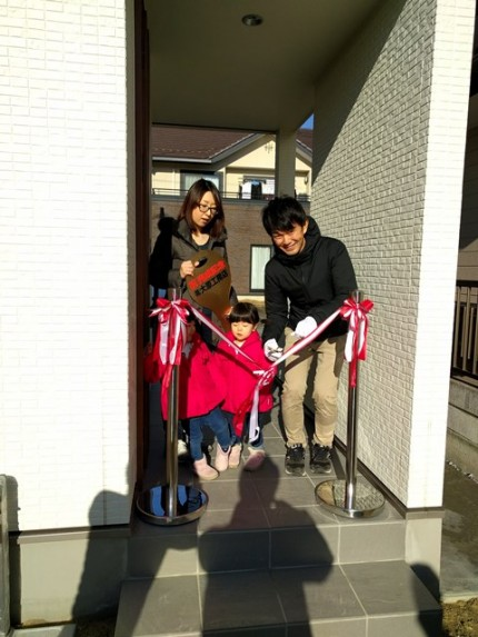 新築住宅の引き渡し式です。 郡山市 新築住宅 大原工務店のブログ