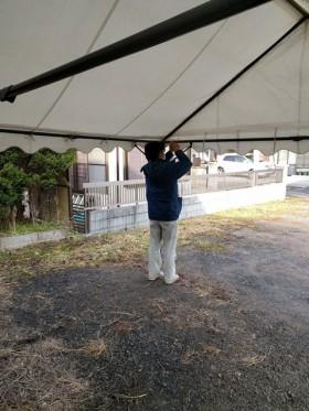 新築住宅の地鎮祭の用意です。|郡山市 新築住宅 大原工務店のブログ