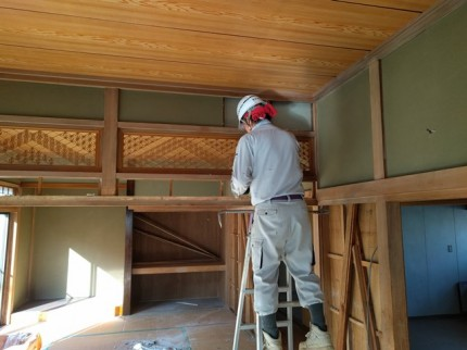 大槻町の売地で内部解体です。|郡山市 新築住宅 大原工務店のブログ