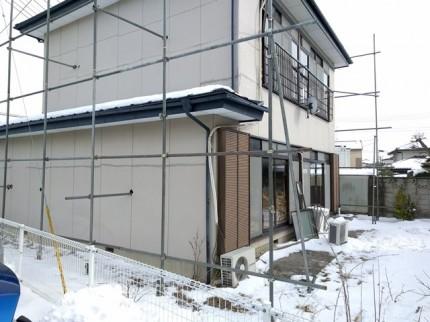 大槻町の売地、建物解体です。|郡山市 新築住宅 大原工務店のブログ