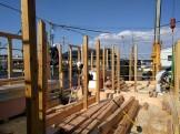 新築の上棟風景です。|郡山市 新築住宅 大原工務店のブログ