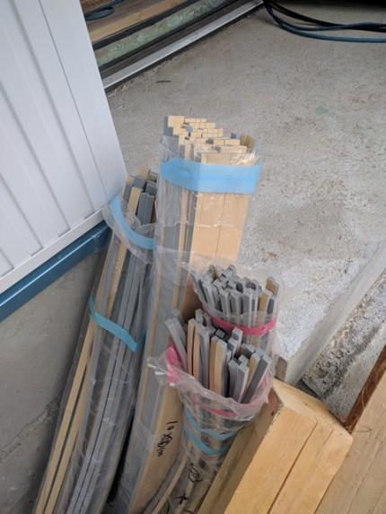 シーリングのバックアップ材です。|郡山市 新築住宅 大原工務店のブログ